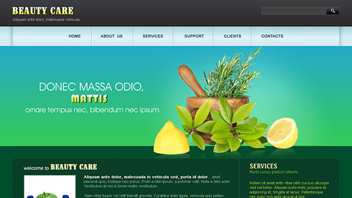 Beauty Care Website